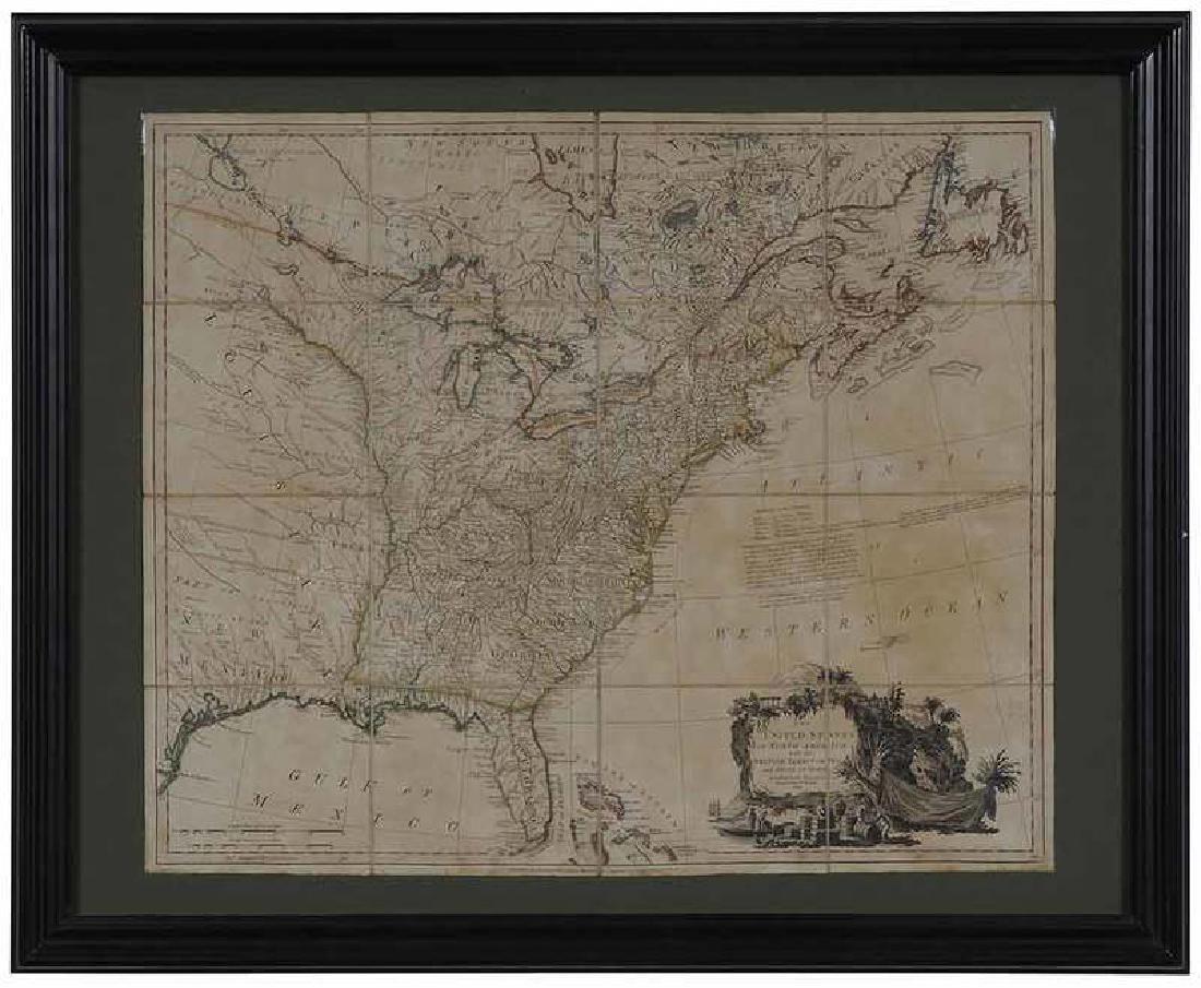 William Faden - United States of North America
