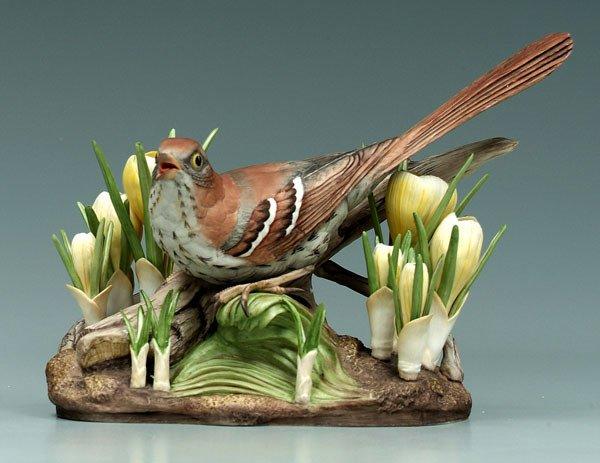 5: Boehm bird figurine,
