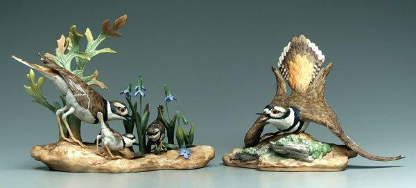 10: Two Boehm bird figurines: