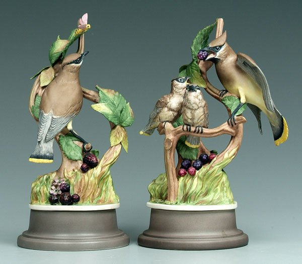 16: Two Boehm figural groups: