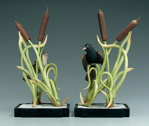 17: Two Boehm birds:
