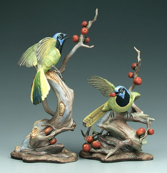 18: Two Boehm figural groups: