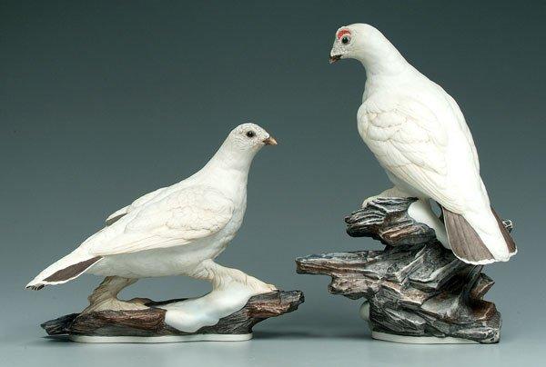 20: Two Boehm bird figurines: