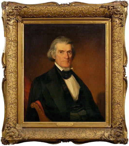 115: Scarborough portrait, John C. Calhoun