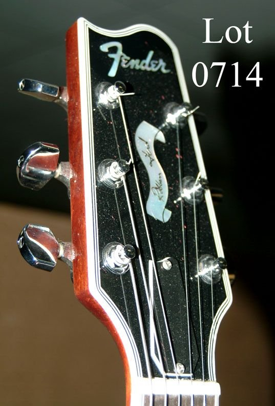 714: Robben Ford Fender electric guitar, - 6