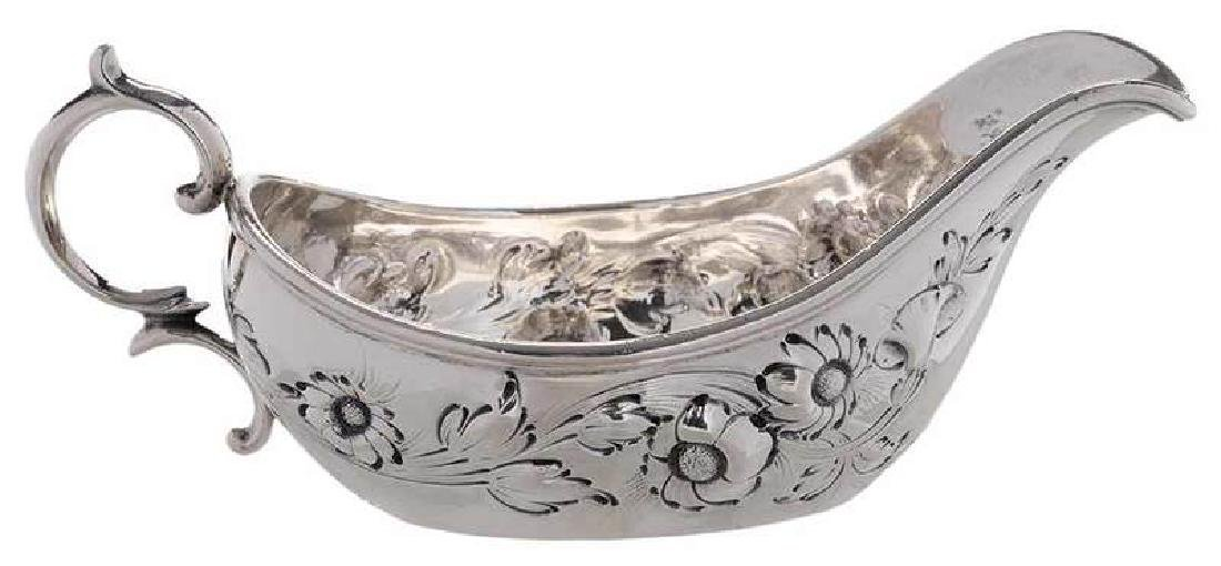 Tiffany Coin Silver Pap Boat