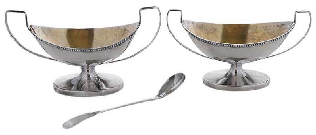 Philadelphia Coin Open Salts and Ladle