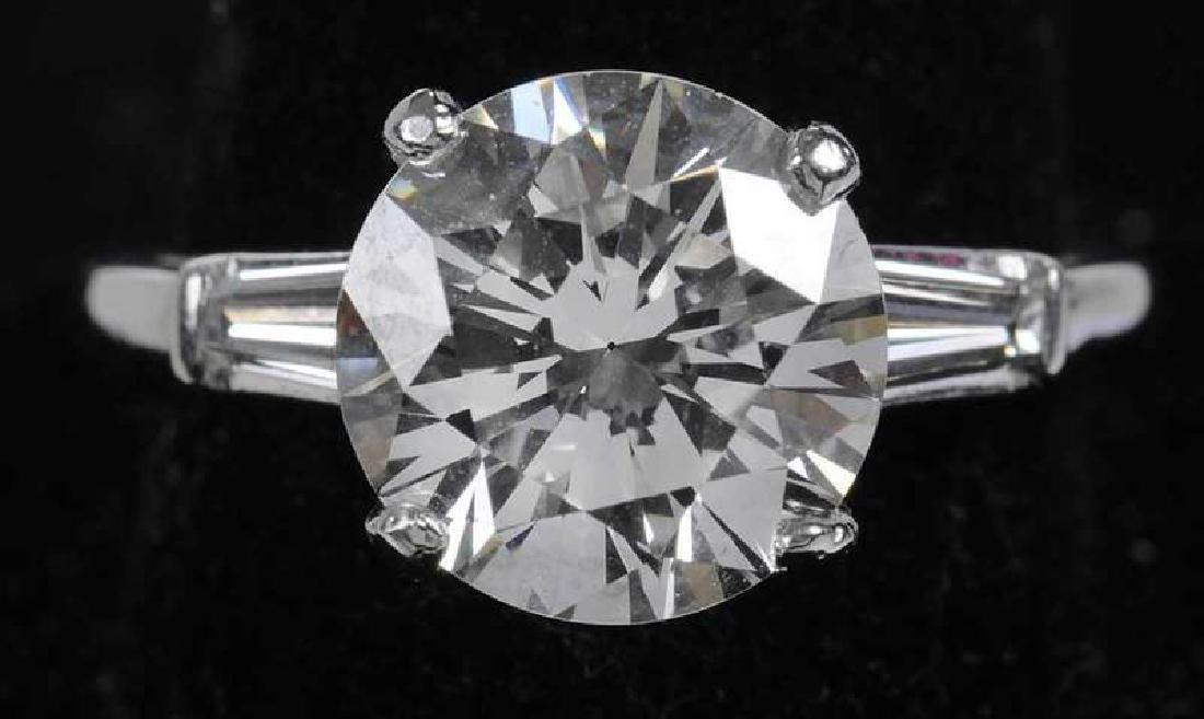 Platinum & Diamond Ring - 9