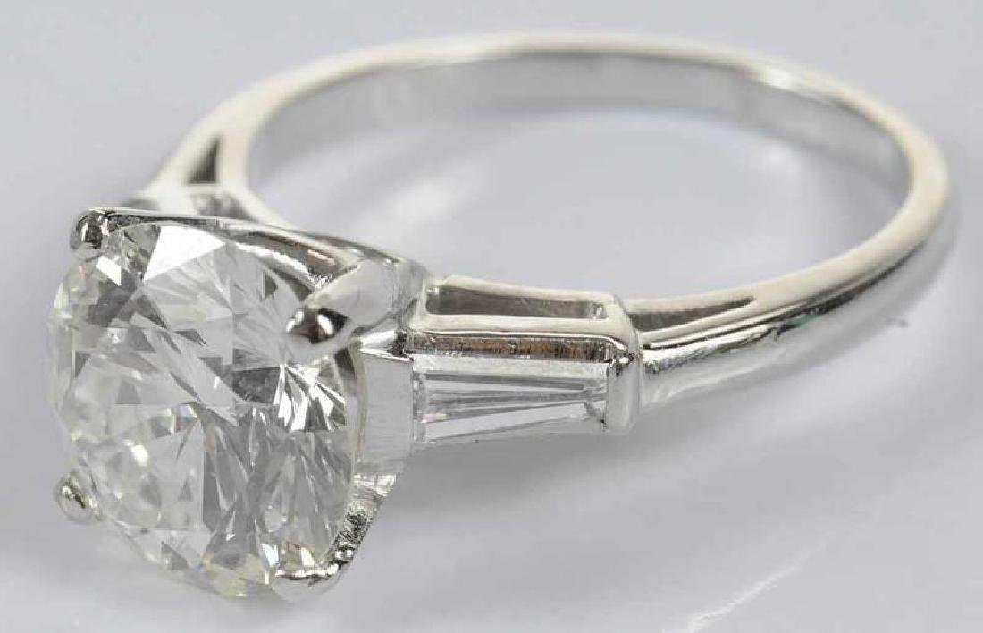 Platinum & Diamond Ring - 11
