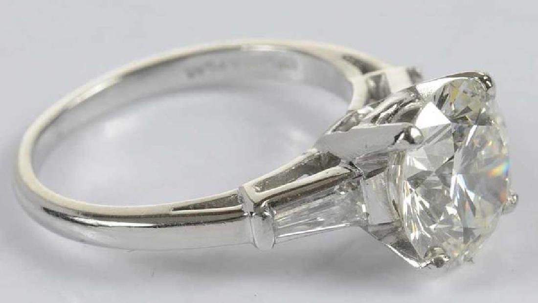 Platinum & Diamond Ring - 14