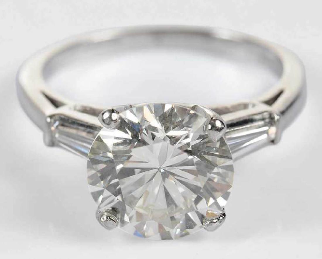 Platinum & Diamond Ring - 2