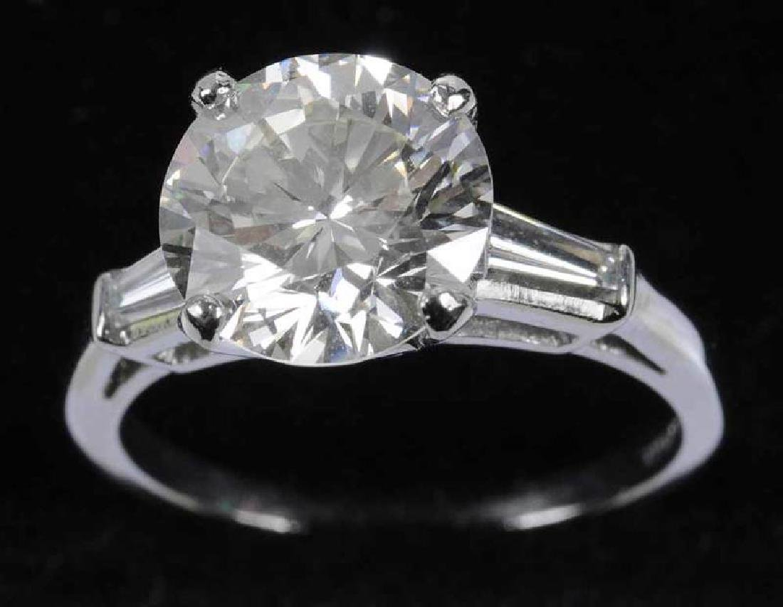 Platinum & Diamond Ring - 4