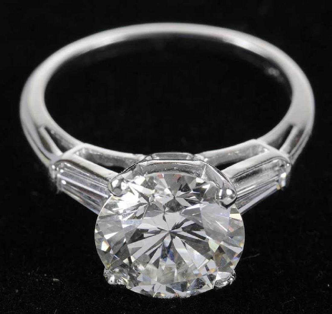 Platinum & Diamond Ring - 6