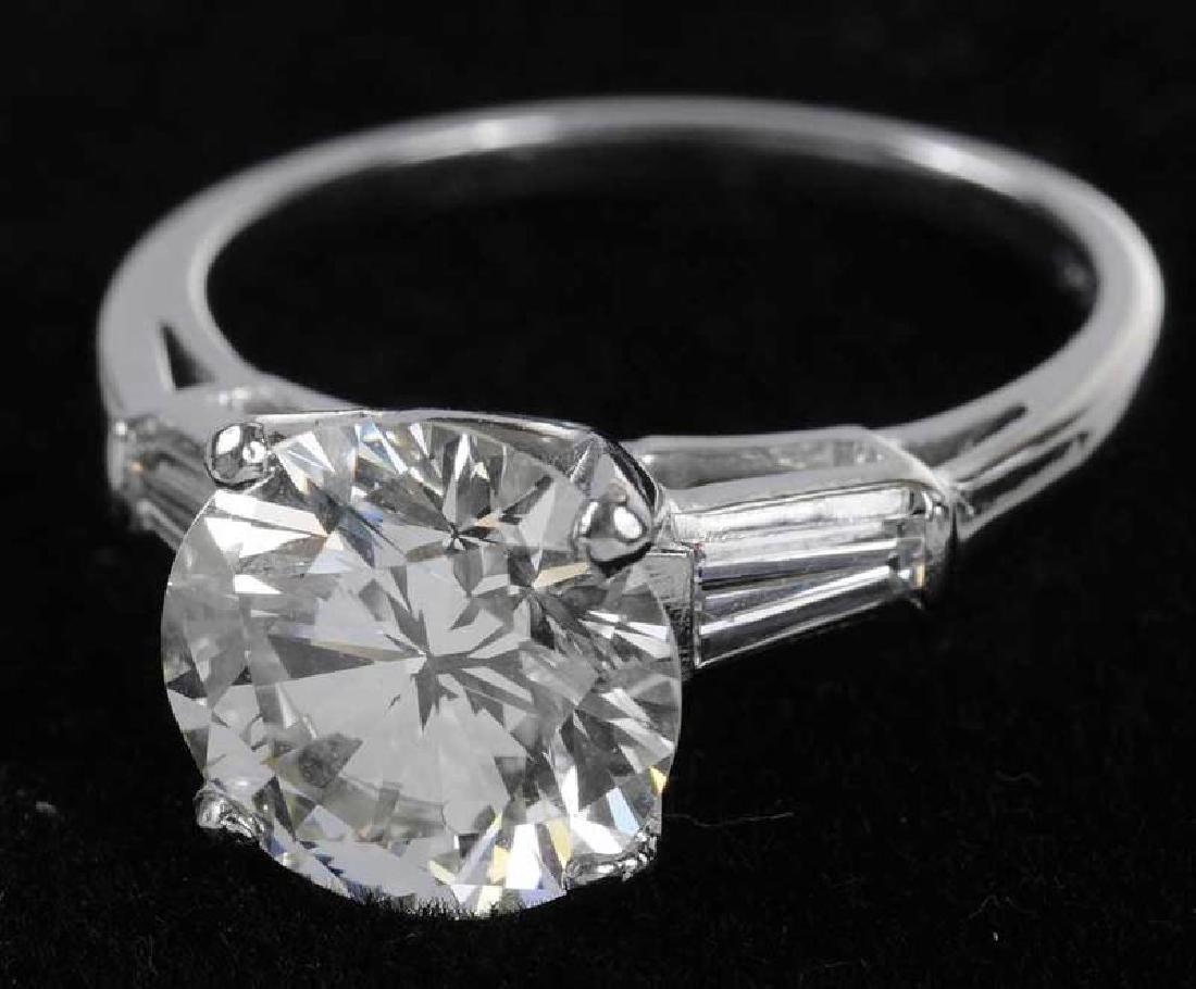 Platinum & Diamond Ring - 7