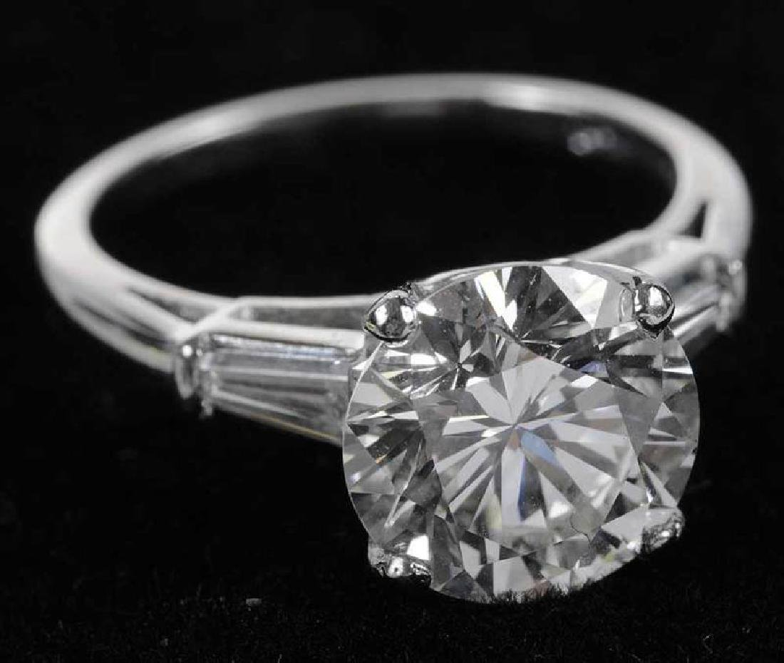 Platinum & Diamond Ring - 8