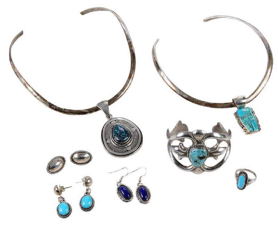 7 Pieces Southwestern Jewelry
