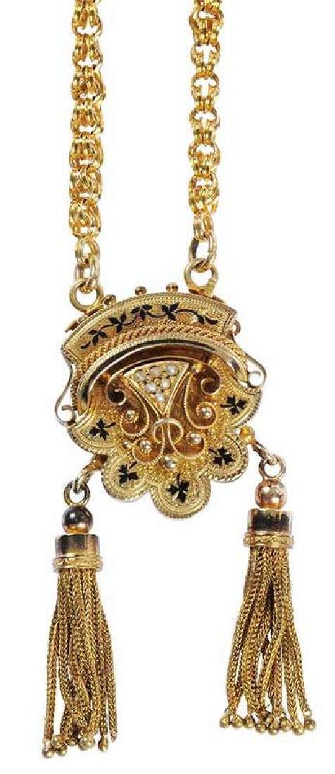 Antique 14kt. Necklace