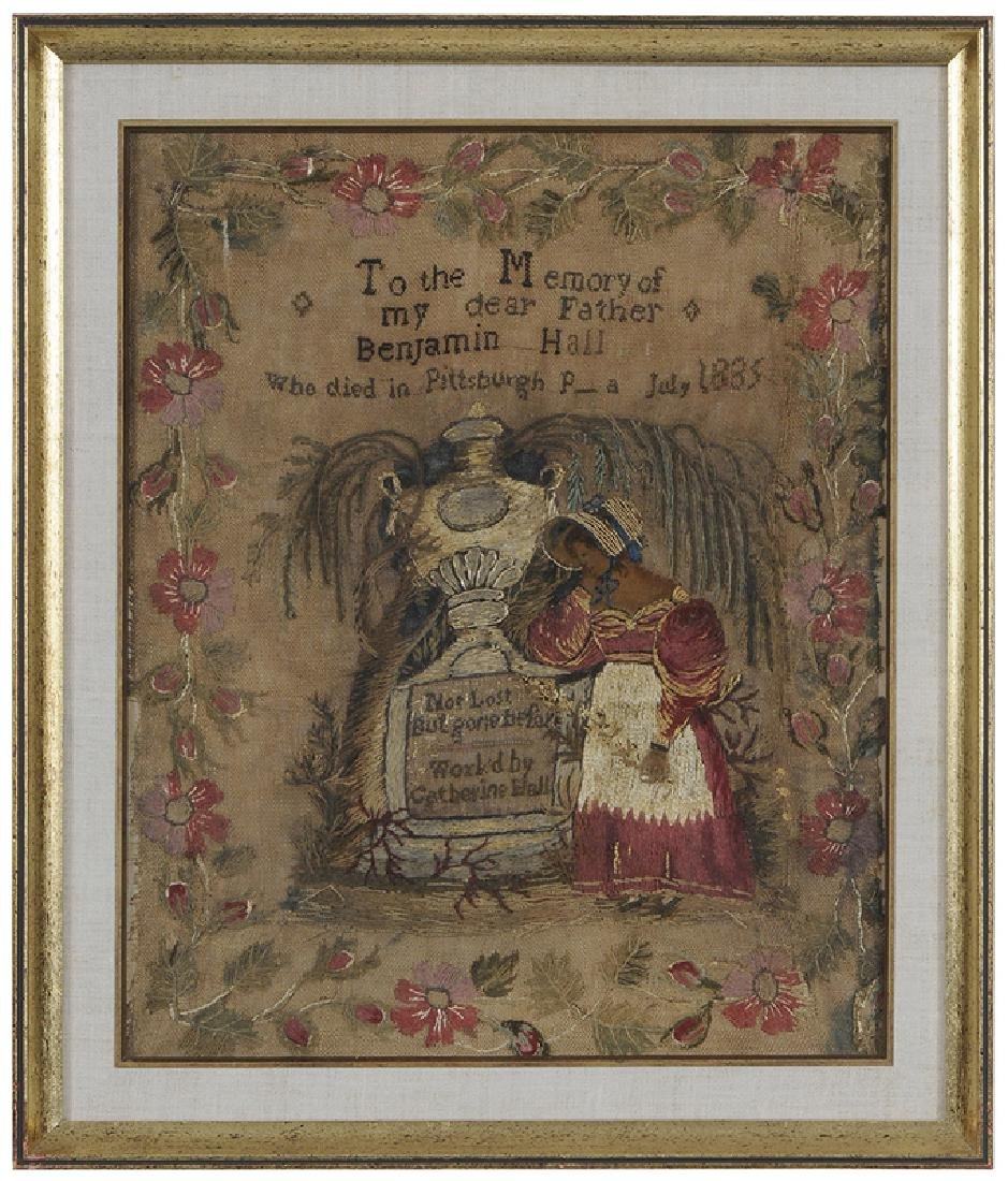 1835 Pittsburgh, Pennsylvania  Needlework