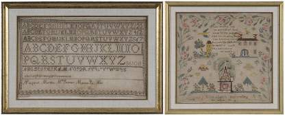 Pennsylvania Sampler and American Embroidery