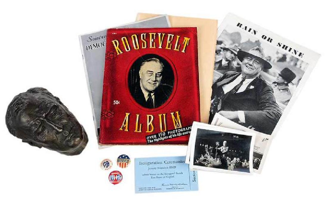 Assorted Franklin Roosevelt Campaign Materials