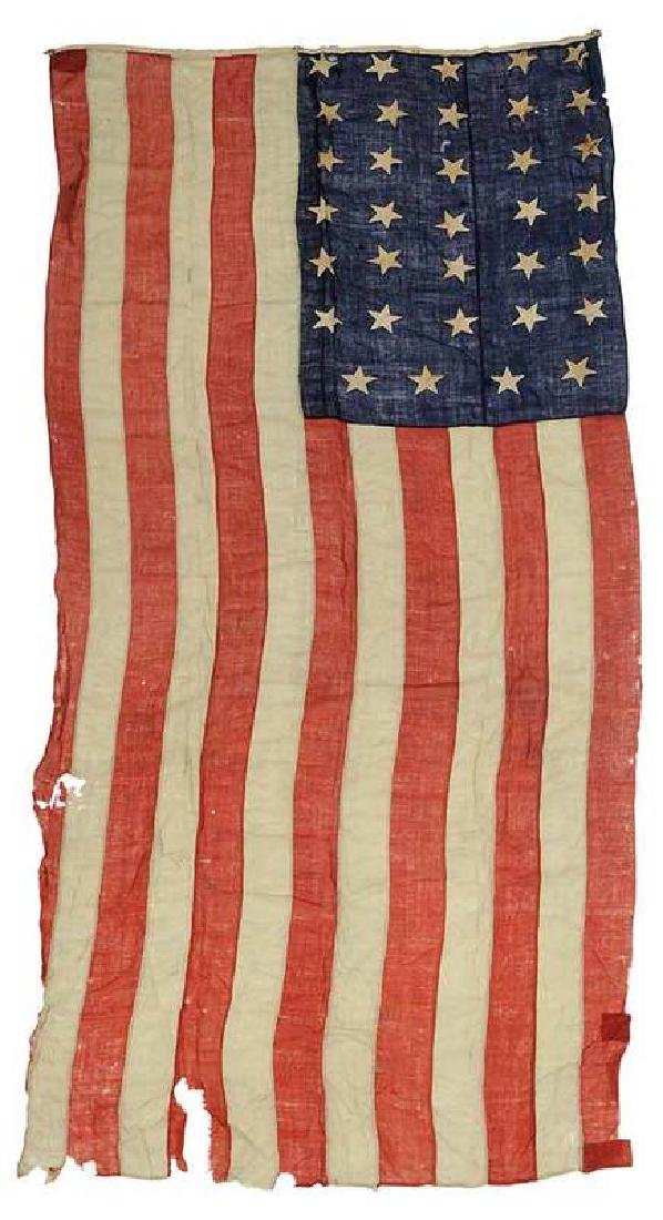 34 Star American Flag