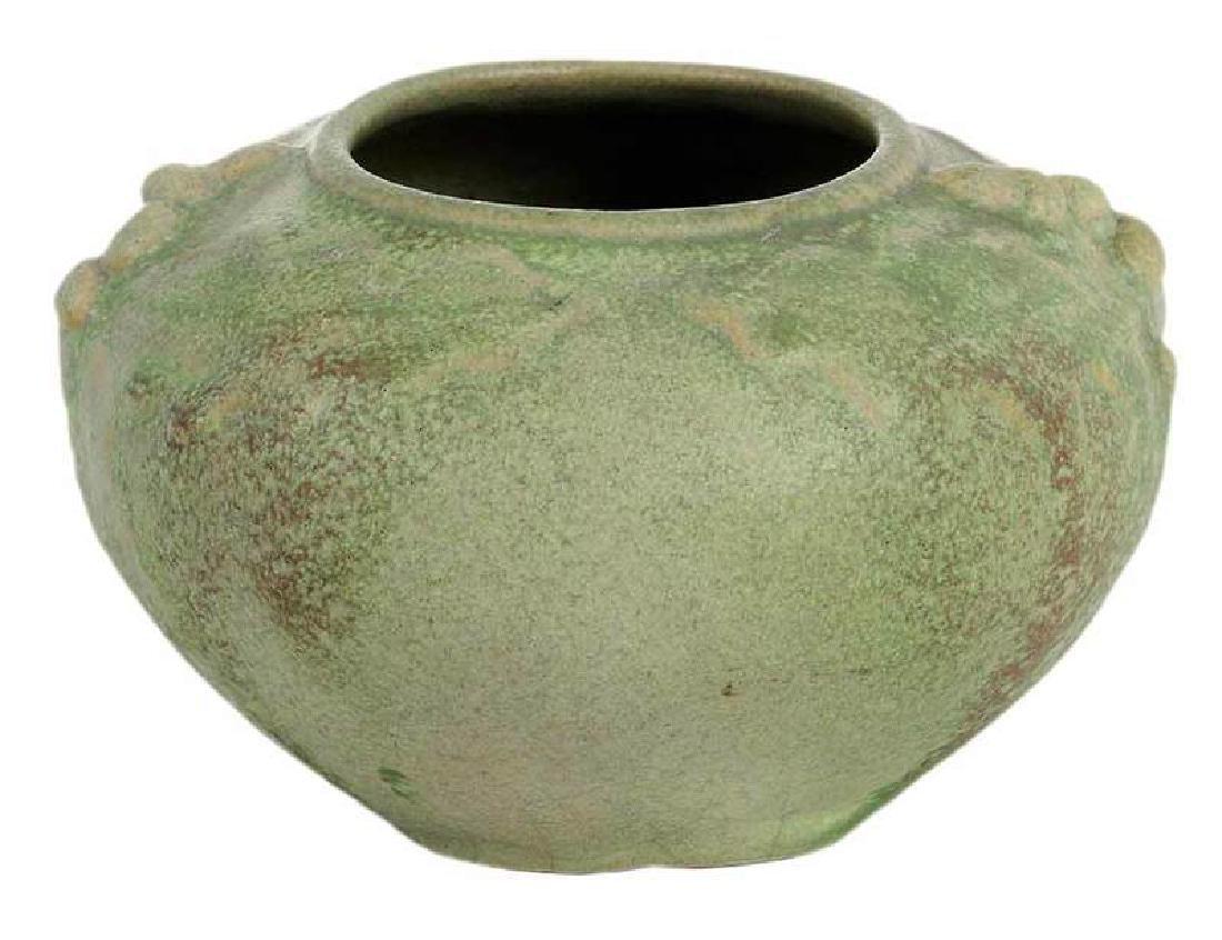 1908 Van Briggle Acorn Pot