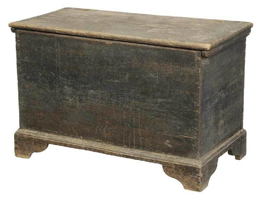 Southern Chippendale Decorated Blanket Chest