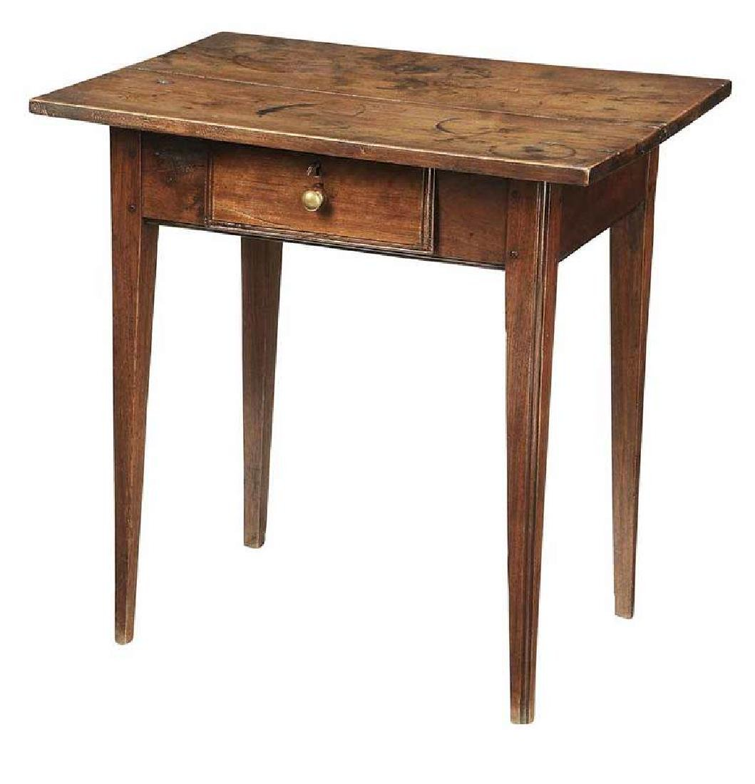 Southern Walnut One Drawer Table