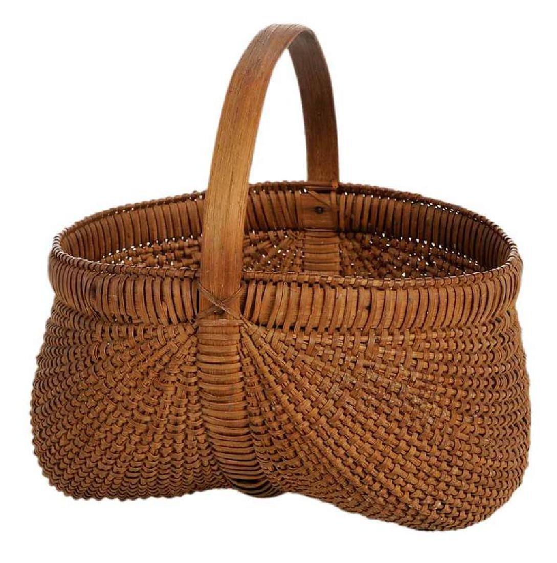 Small Shelton Sisters Egg Basket