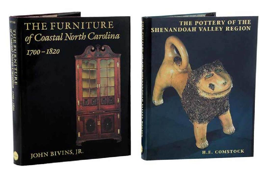Two North Carolina Decorative Arts Books