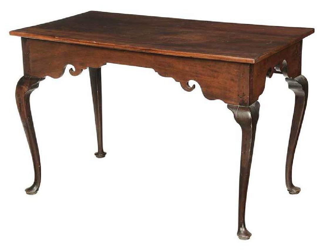 Queen Anne Mahogany Sideboard Table