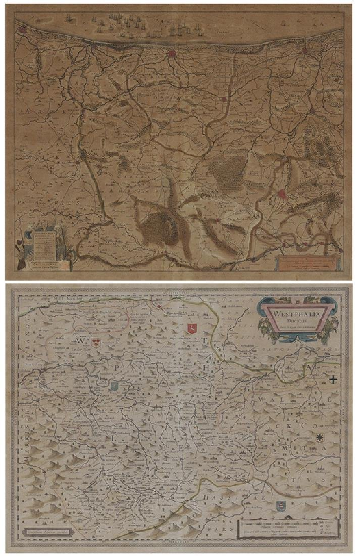 Two 17th Century Continental European Maps