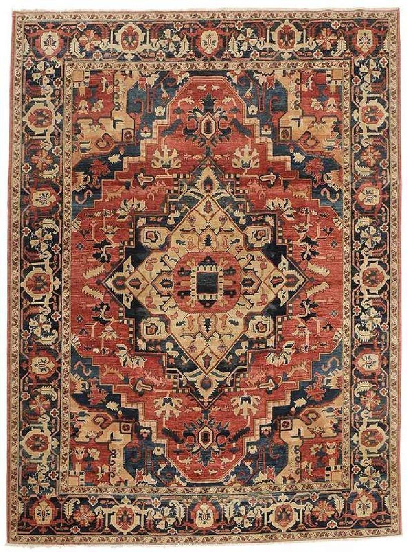 Heriz Style Carpet