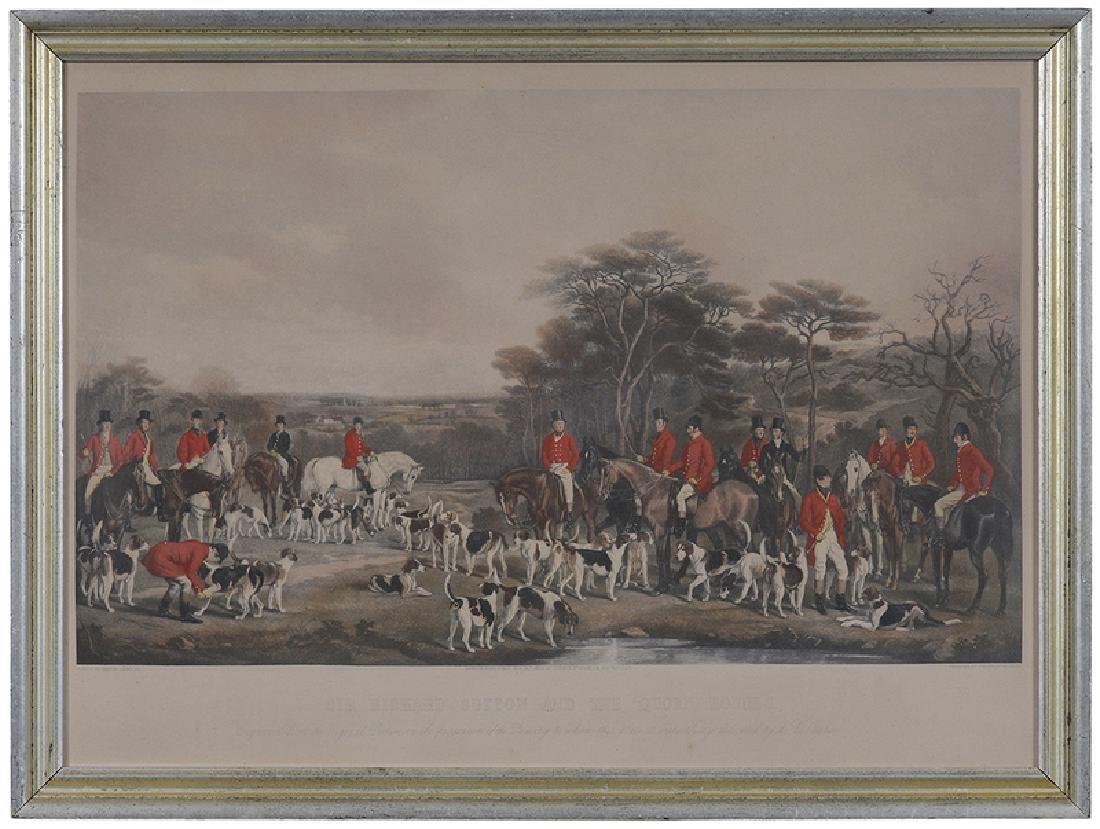 Three British Fox Hunting Prints