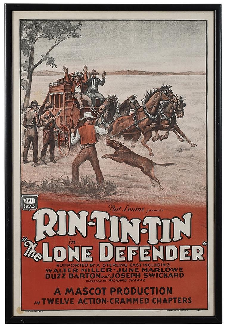 Rin-Tin-Tin in The Lone Defender