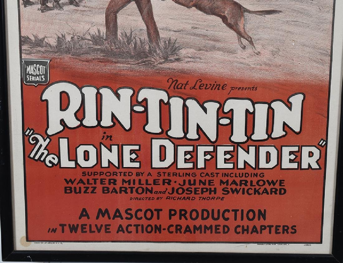 Rin-Tin-Tin in The Lone Defender - 2