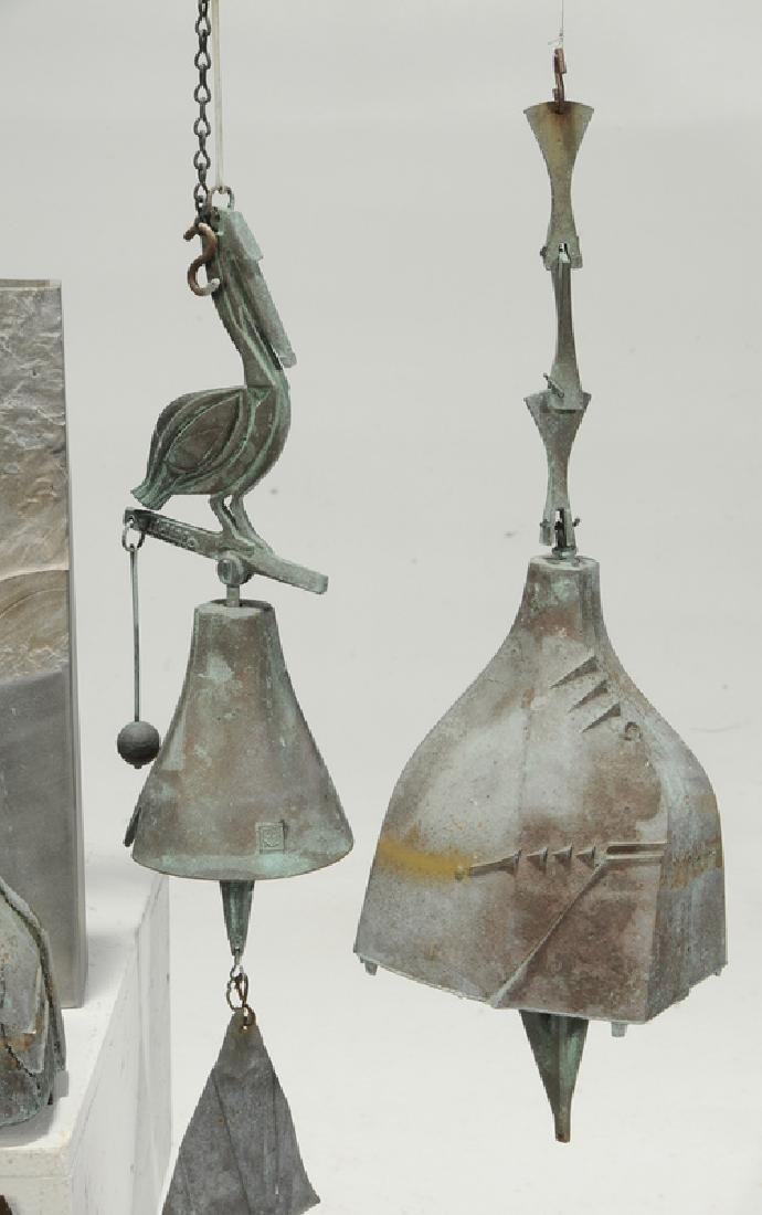 Ten Metal Objects/Vase and Bells - 3