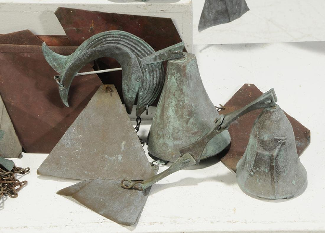 Ten Metal Objects/Vase and Bells - 4
