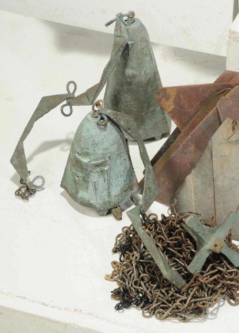 Ten Metal Objects/Vase and Bells - 5
