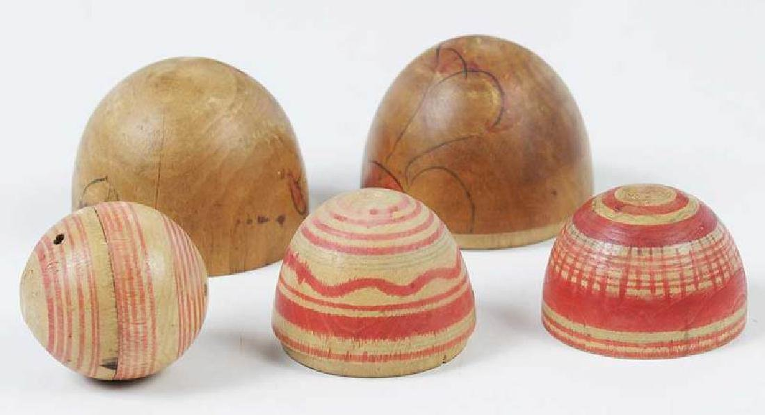 Four Wooden Nesting Dolls - 3