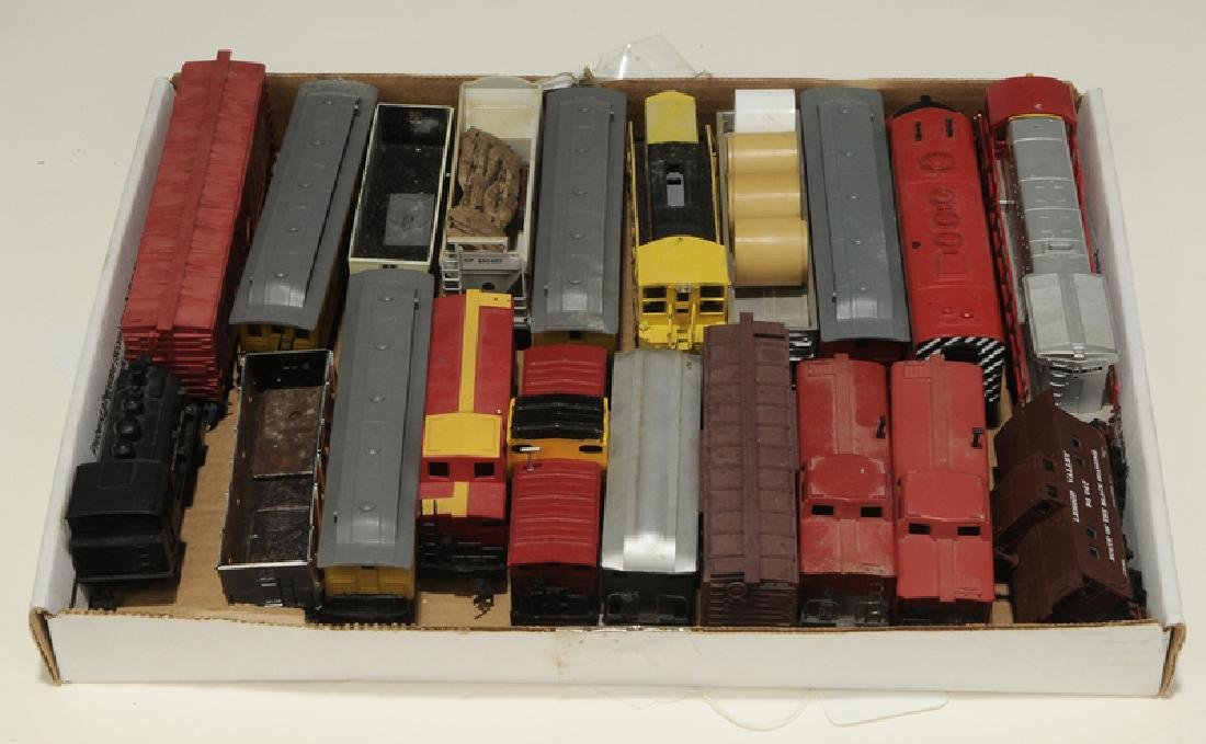 Large Group of Model Trains and Accessories - 10