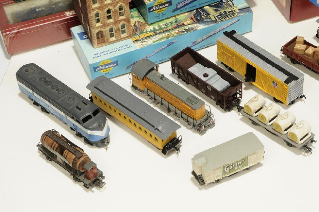 Large Group of Model Trains and Accessories - 2