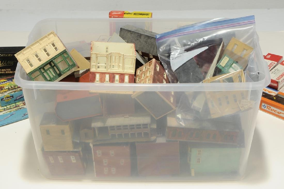 Large Group of Model Trains and Accessories - 6