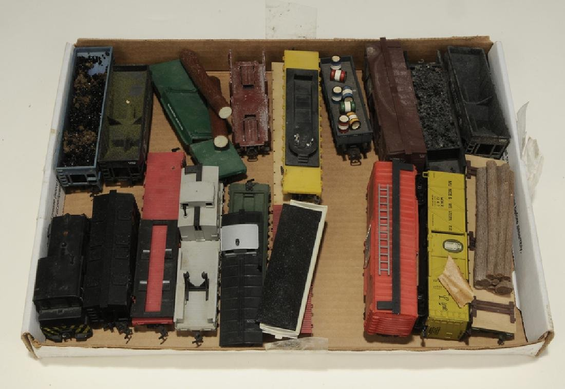 Large Group of Model Trains and Accessories - 8