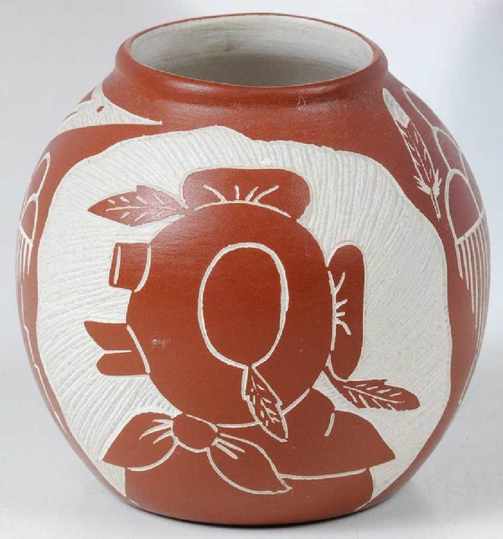 Three Small Southwestern Pottery Vessels - 3