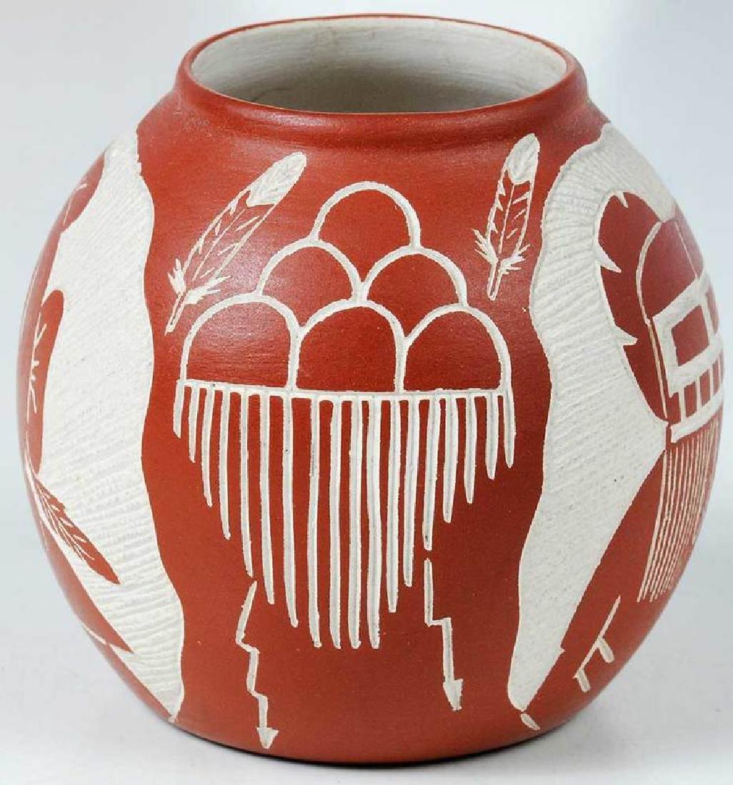 Three Small Southwestern Pottery Vessels - 4