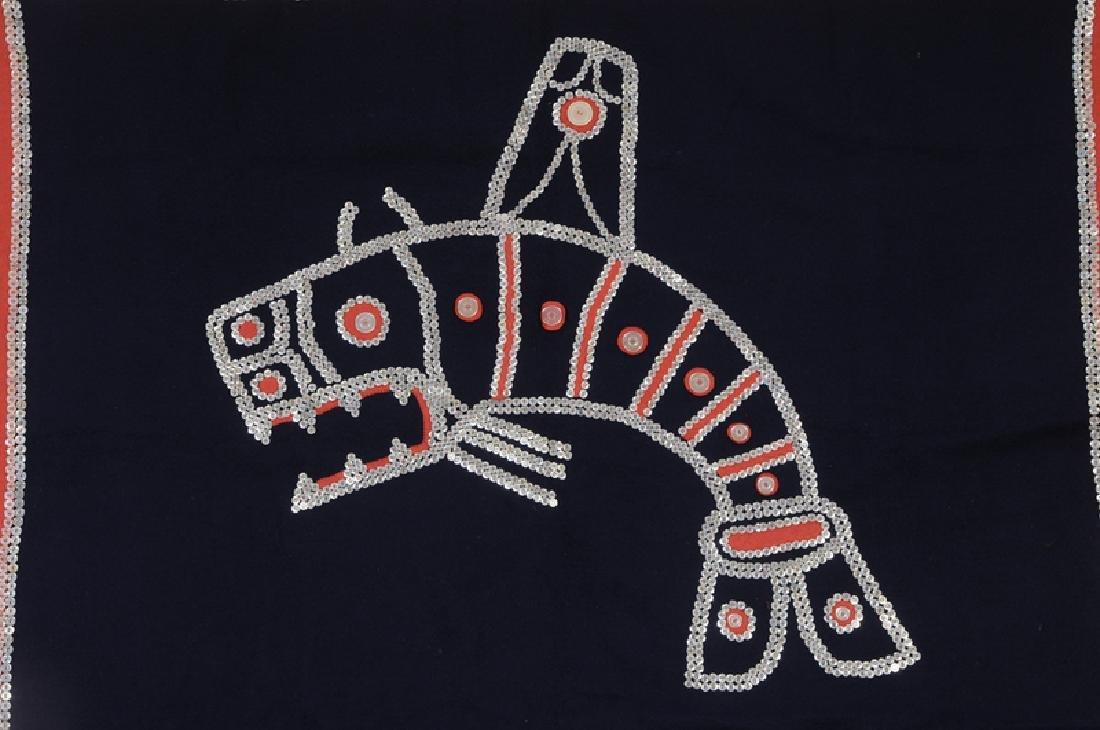 Tlingit Button Blanket - 2