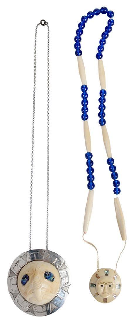 Two Northwestern Bone Necklaces