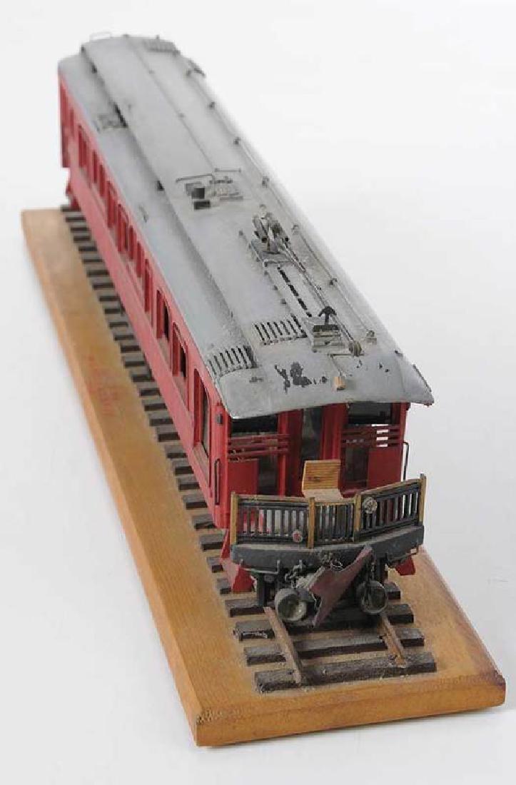 Handcrafted Train Car Model - 2