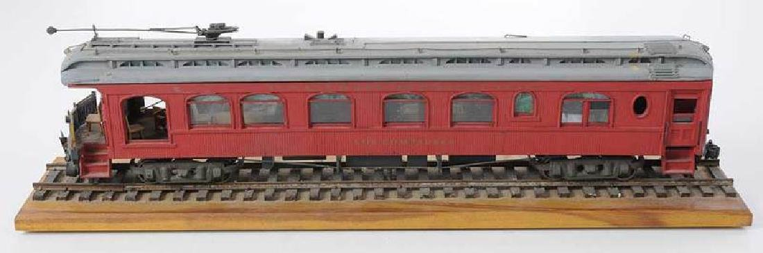 Handcrafted Train Car Model - 3
